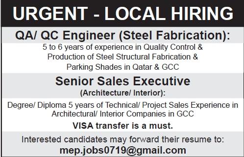 urgent-local hiring