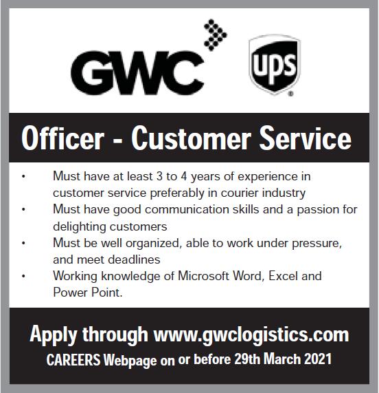 GWC officer Customer service