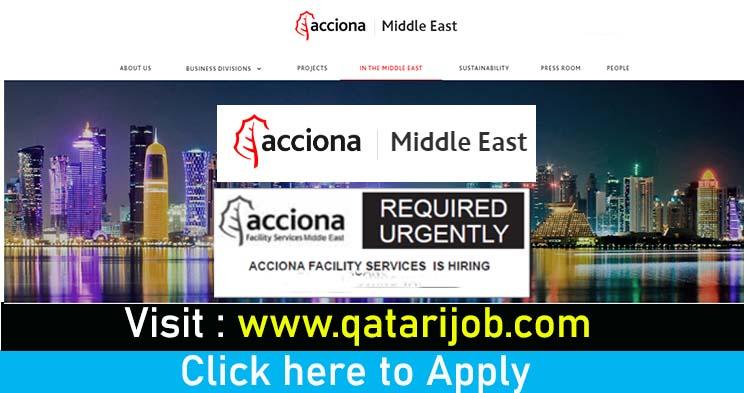acciona facility service hiring