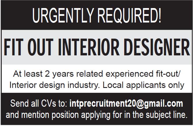 fit our interior designer