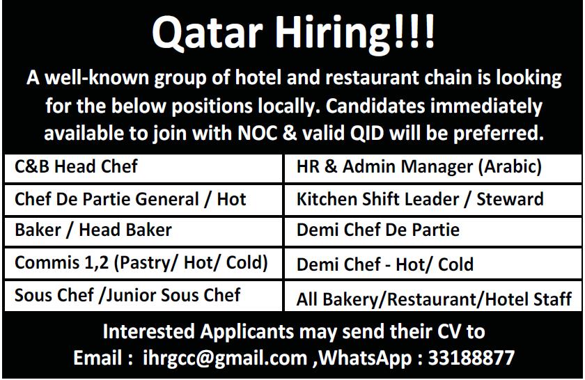 qatar hiring
