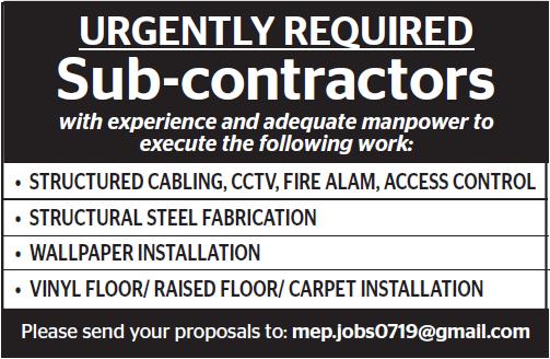sub-contractors