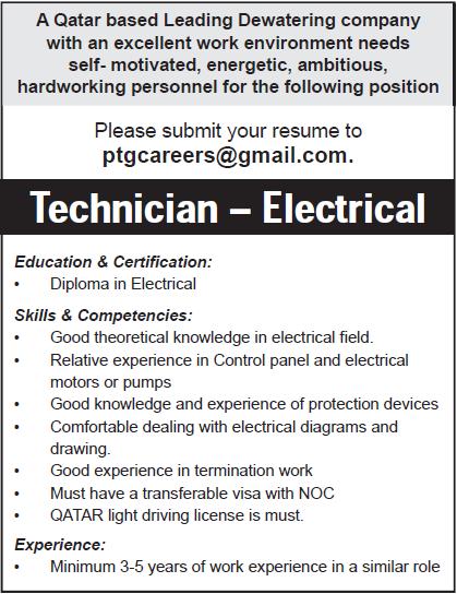 technician electrical
