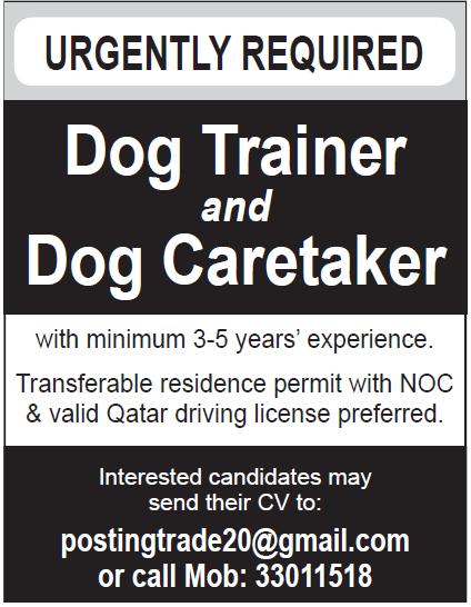 trainer & caretaker