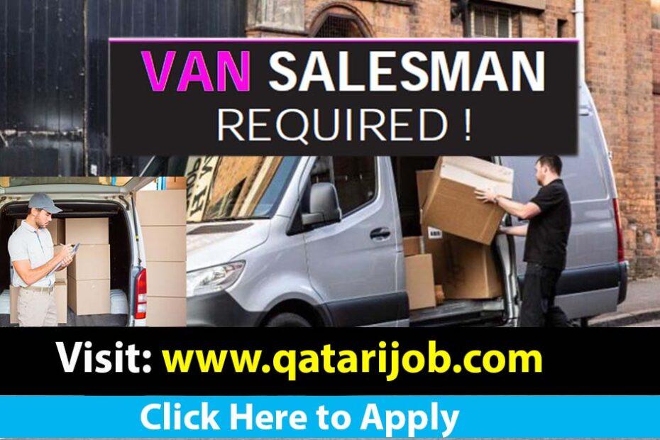 van salesman required