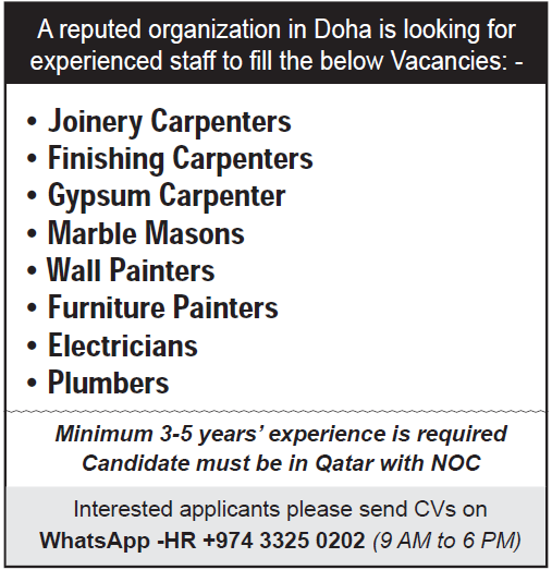experienced staff