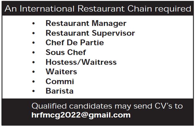 international chain restaurant