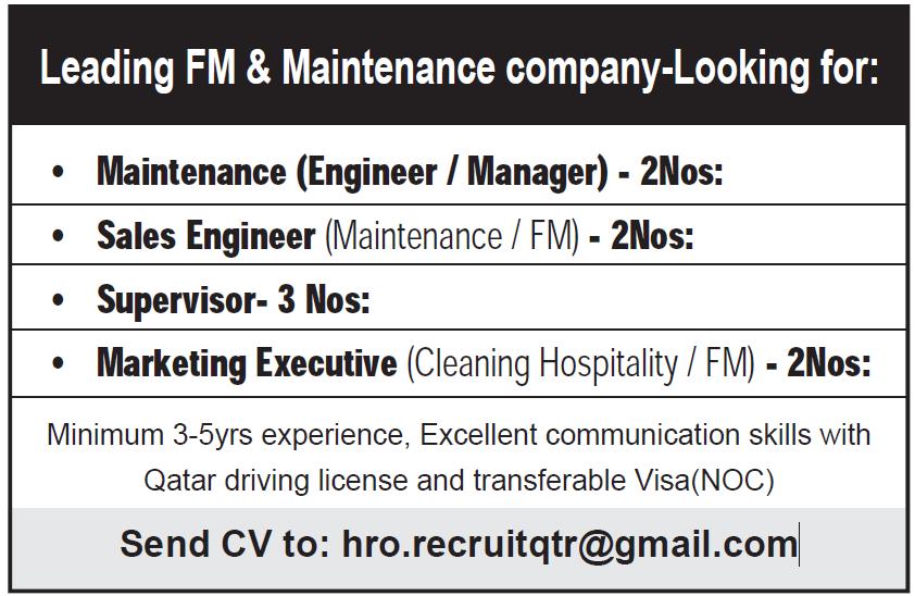 leading fm and maintenance company