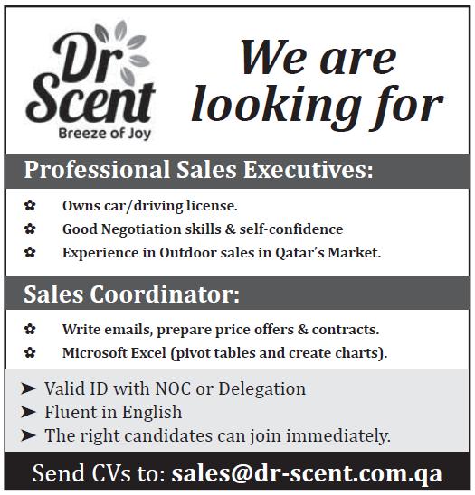 sales executives-sales coordinator