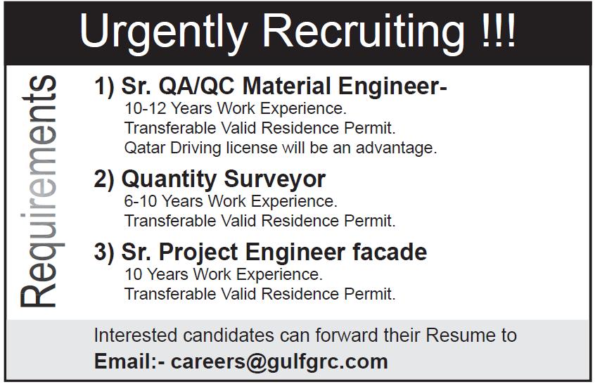 urgent recruiting
