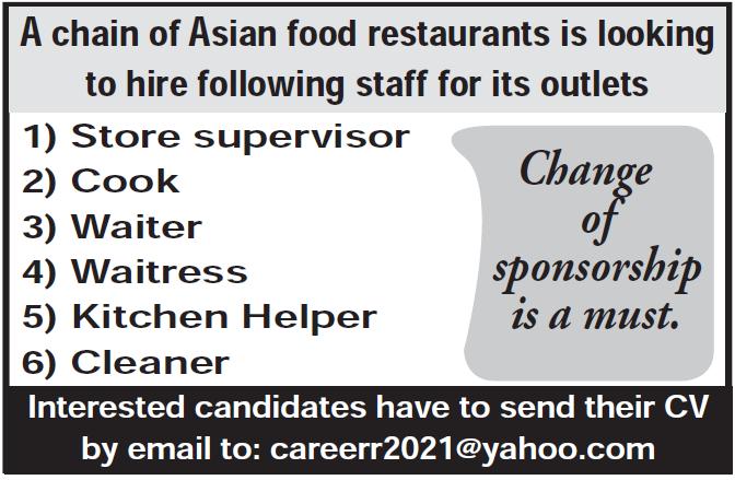 chain of asian food restaruant