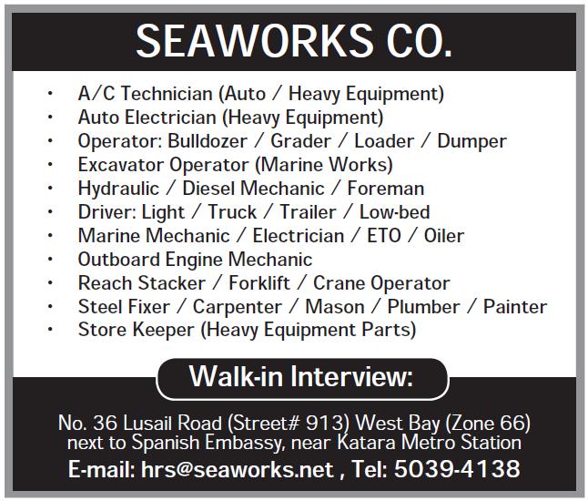 SEAWORKS CO.