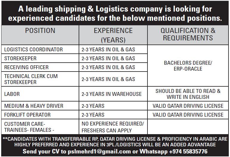 shipping & Logistics company
