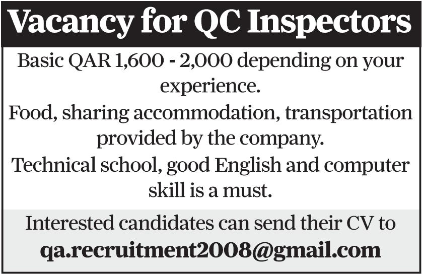 QC Inspector