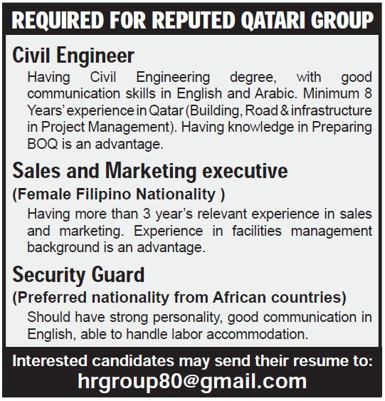reputed qatari group