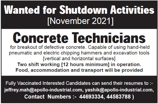 concrete technician