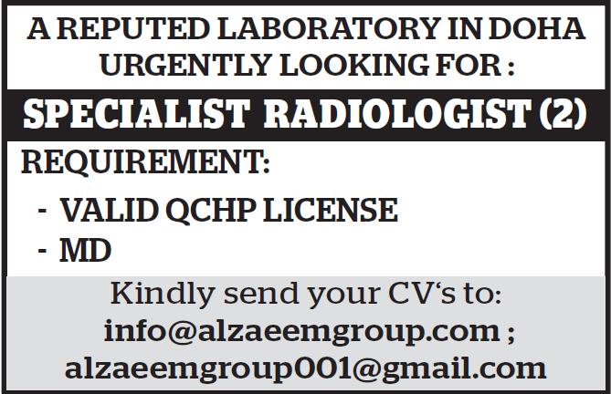 job in laboratory