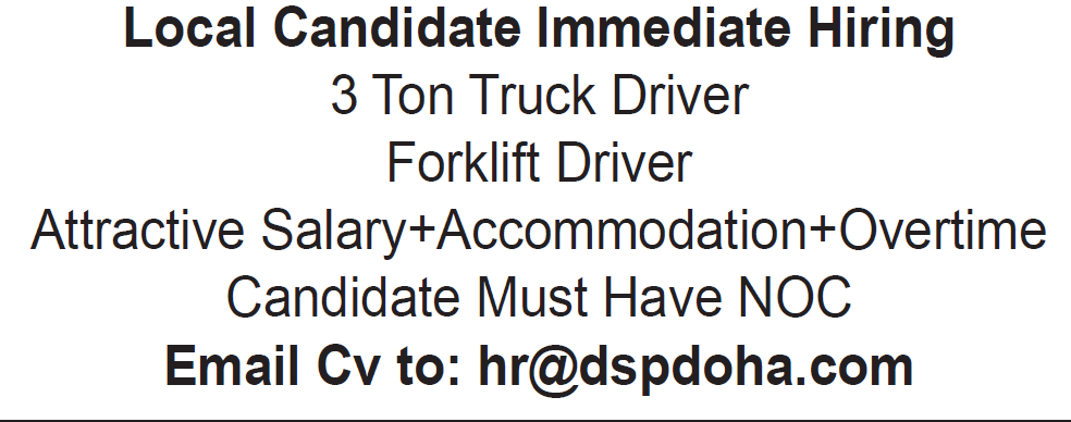 truck driver and forklift driver